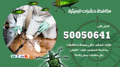 مكافحة حشرات الرميثية