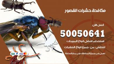 مكافحة حشرات القصور