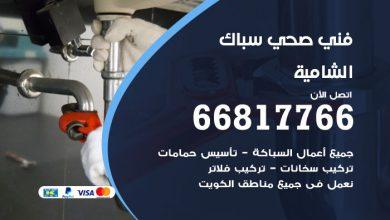 فني صحي سباك الشامية